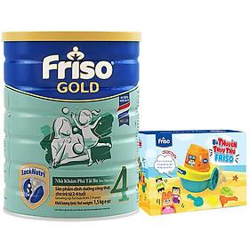 Sữa Bột Friso Gold 4 Cho Trẻ Từ 2-4 Tuổi 1.5kg + Tặng bộ du thuyền lắp ráp