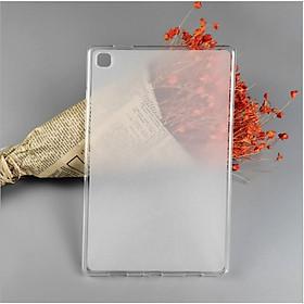 Ốp lưng silicon lưng trắng mờ, viền trong suốt cho Samsung Galaxy Tab A7 2020 10.4 inch.