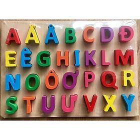 Bảng chữ cái nổi tiếng Việt 20x30cm cho bé