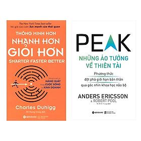 Combo Sách Kỹ Năng Làm Việc: Thông Minh Hơn, Nhanh Hơn, Giỏi Hơn + Những Ảo Tưởng Về Thiên Tài