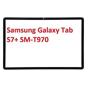Mặt Kính Ép Thay Thế Màn Hình Cho Samsung Galaxy Tab S7+ S7 Plus SM T970
