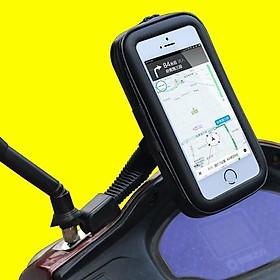 Bao da đựng điện thoại gắn xe máy chống nước
