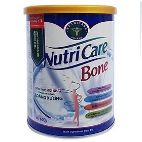 Sữa bột Nutricare Bone Mới phòng loãng xương cải thiện xương khớp (400g, 900g)