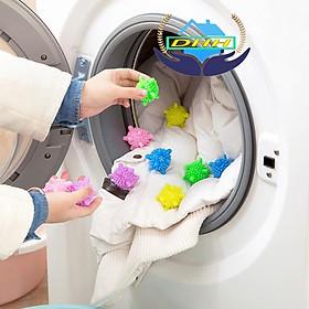 Bóng giặt quần áo - bóng giặt sinh học - bóng gai giặt đồ thông minh chống nhăn