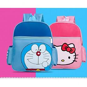 Balo Cho Bé Mầm Non Hình Mèo Kitty Hồng