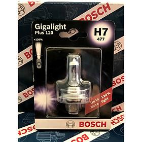 Bóng đèn tăng sáng Bosch. H7 12V 55W Plus 120% .  vỉ 1 bóng Đèn sương mù , đèn cốt , đèn pha