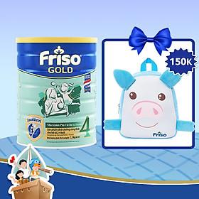 Sữa Bột Friso Gold 4 Cho Trẻ Từ 2-4 Tuổi 1.5kg + Tặng Balo Heo Con Xinh Xắn