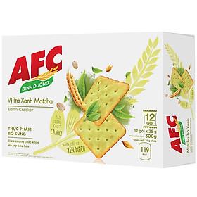 Bánh AFC Trà Xanh Hộp 300g