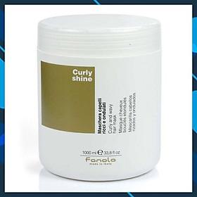 Dầu hấp ủ Fanola Curly Shine (Curly & Wavy hair mask) dành cho tóc uốn quăn và dợn sóng Italy 1000ml