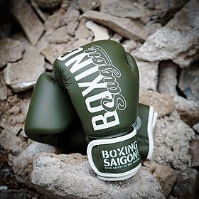 Găng tay Boxing Saigon Inspire - Khaki