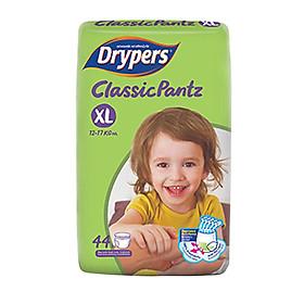 Tã Quần Drypers ClassicPantz Gói Đại XL44 (44 Miếng)-0