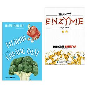 Combo 2 Cuốn Sách Chăm Sóc Sức Khỏe Cho Bạn: Vitamin Và Khoáng Chất + Nhân Tố Enzyme - Thực Hành (Tái Bản) / Những Cuốn Sách Y Học Hay Và Bổ Ích Nhất (Tặng Kèm Bookmark Happy Life)