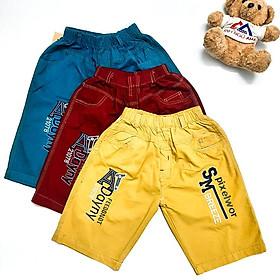Quần bé trai BIG SIZE từ 30kg đến gần 60kg, quần lững form rộng, quần kaki lưng thun - NH Shop