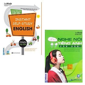 COMBO Instant self-study English Tự học tiếng Anh cấp tốc + Tự học nghe nói tiếng Anh căn bản