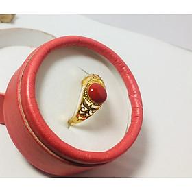 Set Nhẫn Nam Phong Thủy, Đính đá Cẩm Thạch, Điêu khắc tinh xảo, Mang Lại May Mắn, Tài Lộc, Thiết kế Free size, Phù Hợp Nam từ 55 - 80kg
