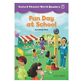 Oxford Phonics World 4 Reader 2 Fun Day At School