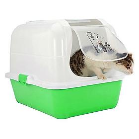 Nhà vệ sinh mèo kitty có kèm Xẻng và lọc khí (Màu Ngẫu Nhiên)