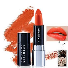 Son lì mềm môi Extra Makeup Matte Lipstick Hàn Quốc 3.5g (B03 - Bikini Rose) + Móc khóa-0