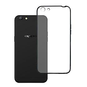 Ốp lưng Oppo A71 - Bề mặt nhám chống vân tay, lưng cứng, viền TPU dẻo - 02068 - Hàng Chính Hãng