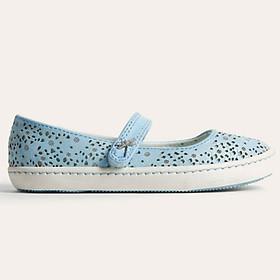 Giày Búp Bê Bé Gái D&A Urban UG1701 - Xanh Da Trời