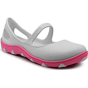 Giày nhựa đúc Thái Lan Tammy nữ 2 lớp màu xám đế hồng