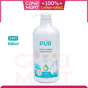 Nước rửa bình sữa Pur 500ml (2401)