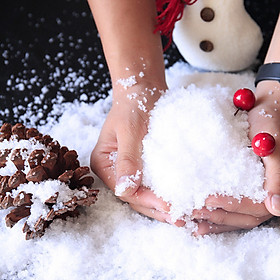 Snow Powder Christmas Tree Snowfake Magic Snow Powder for Festive Decorations