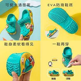 Giày Dép Sục Cho Bé Trai Bé Gái Size 12cm-20cm