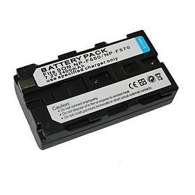 Pin sạc đèn Led NP-F550 dung lượng 2400mAh cho LED Yongnuo YN600