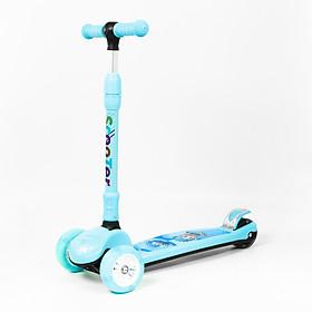 Xe Trượt Scooter XJ 666 mới 3 bánh thông minh dễ cân bằng cho bé trai bé gái từ 3 tuổi đến 8 tuổi có thể thay đổi chiều cao 3 nấc cùng với sự phát triển của bé