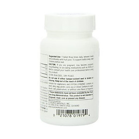 Source Naturals L-Tryptophan, 500 mg Essential Amino Acid Supplement - 120 Tablets