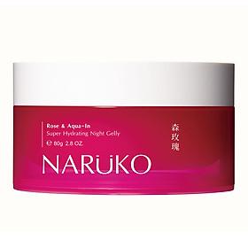 Mặt nạ ngủ dưỡng ẩm NARUKO hoa hồng nhung 80g
