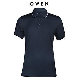 OWEN - Áo polo nam Owen màu xanh đen 22509 - Áo thun ngắn tay có cổ nam