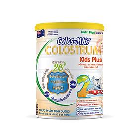 Sữa bột dinh dưỡng Colos Mk7 KISDS PLUS Dành cho trẻ biếng ăn, chậm lớn giúp trẻ ăn ngon, ngủ ngon, phát triển toàn diện từ 6-36 tháng tuổi- NUTRI PLUS-900G