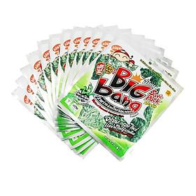 Lốc 12 gói Snack rong biển Tao Kae Noi Big Bang  vị truyền thống (6g)