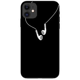 Ốp lưng dành cho Iphone 12 Mini mẫu Cọng Tai Nghe