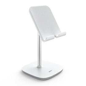 Giá đỡ điện thoại máy tính bảng xoay 45 độ Màu Trắng chất liệu kim loại Ugreen 70976 LP177 Hàng Chính Hãng