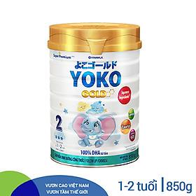 SỮA BỘT GOLD YOKO 2 VINAMILK 850G ̣̣DÀNH CHO BÉ TỪ 1 - 2 Tuổi