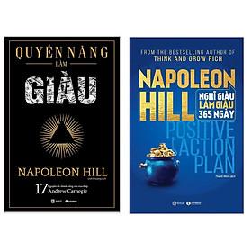 Combo Tuyệt Chiêu Làm Giàu: Quyền Năng Làm Giàu + Nghĩ Giàu Làm Giàu 365 Ngày - Positive Action Plan (Top sách Kinh tế bán chạy nhất của Napoleon Hill )