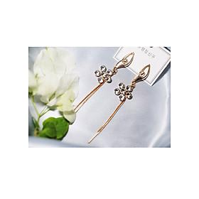 Hình đại diện sản phẩm Bông tai Hàn Quốc - Hoa tai đẹp sang chảnh - Khuyên tai đi dự tiệc, đám cưới, sinh nhật xinh xắn - Mẫu 26