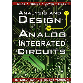 Analysis and Design of Analog Integrated Circuits (5th Edition) (International Student Version)