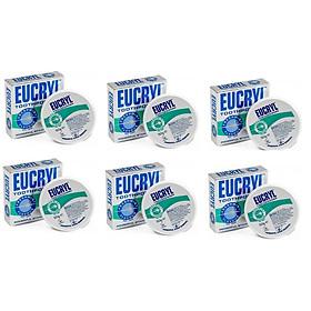 Bộ 6 hộp bột tẩy trắng răng EUCRYL 50g