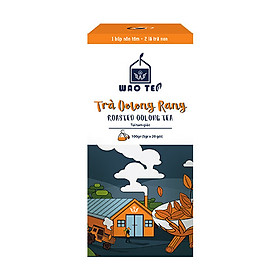 Trà Oolong Rang Túi Tam Giác WAOTEA - Dòng Sản Phẩm Hương Vị Đặc Trưng - Hàng Chính Hãng - Sản Phẩm Mới - Đóng Gói Hộp 20 túi lọc