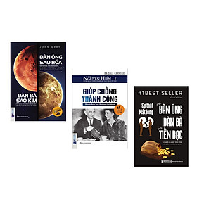 Combo bộ sách Tâm lý đàn ông (Giúp chồng thành công + Đàn ông sao hỏa, đàn bà sao Kim + Sự Thật Mất Lòng Về Đàn Ông Đàn Bà Và Tiền Bạc) DL