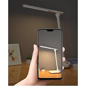 Đèn Bàn Học LED USB Di Động Cao Cấp H100 Có Thể Gập Hai Chỗ – 03 Chế Độ Ánh Sáng Vàng Bảo Vệ Mắt Chống Cận - Hàng chính hãng