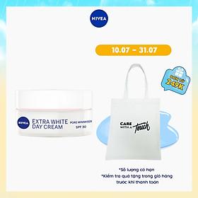 Kem dưỡng trắng da ban ngày NIVEA Pearl White chiết xuất ngọc trai SPF33 PA+++ (50ml) - 82335