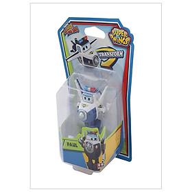 Máy Bay Biến Hình Robot Mini - Cảnh Sát Paul - SUPERWINGS YW710050