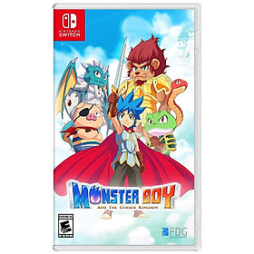 "Game Nintendo "" Monster Boy and the Cursed Kingdom "" New Seal >> Hàng Nhập Khẩu"