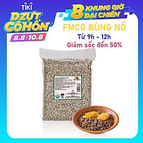 Hạt Quinoa Mix 3 Màu Smile Nuts Túi 2kg (Còn được gọi là Hạt Diêm Mạch) - Nhập khẩu từ Peru (Gồm Quinoa trắng, Quinoa đen và Quinoa đỏ), túi 2kg tiện dụng và tiết kiệm hơn