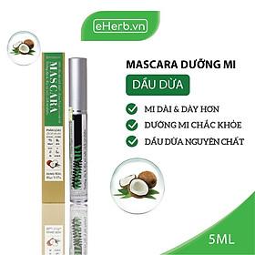 Mascara Dưỡng Mi Dầu Dừa Nguyên Chất Kích Thích Mi Mọc Dày & Dài Hơn MILAGANICS 5ml (Tuýp)